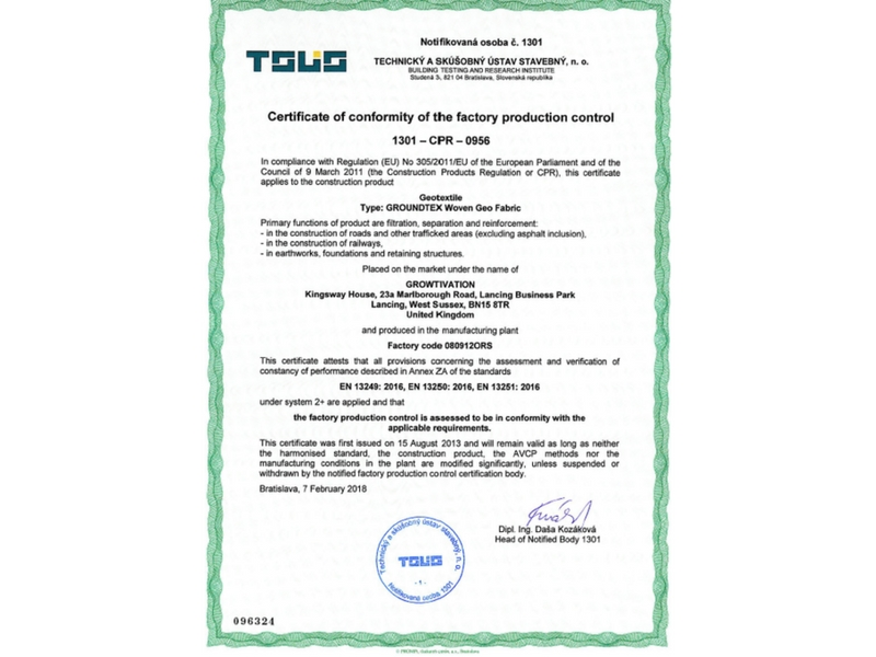 cpr certificate 1301 fpc