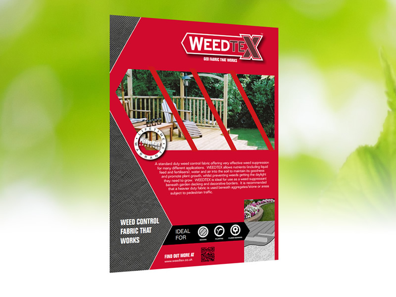 growtivation product that works weedtex brochure