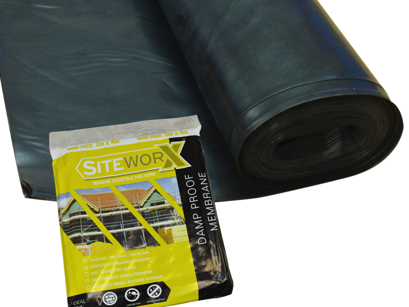 500 Micron Damp Proof Membrane Sheet : Siteworx growtivation