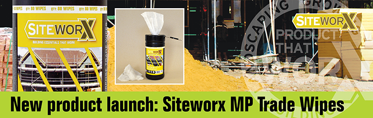 New Product: Siteworx Multi-Purpose Trade Wipes