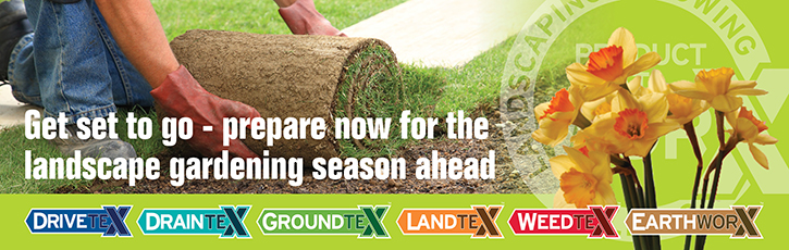 Get set to go - prepare now for the landscape gardening season ahead