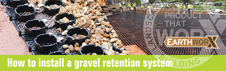 How to Install a Gravel Retention System