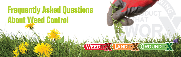 Frequently Asked Questions about Weed Control