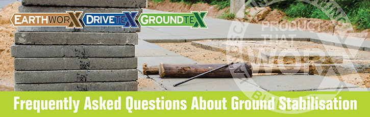 Frequently Asked Questions about Ground Stabilisation Membranes