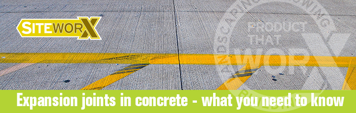 Expansion joints in concrete - what you need to know