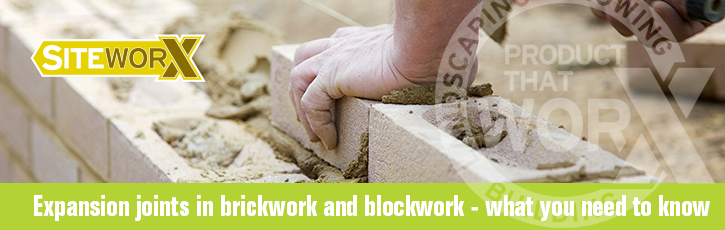 Expansion joints in brickwork and blockwork - what you need to know