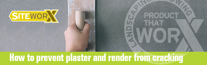 How to prevent plaster and render from cracking