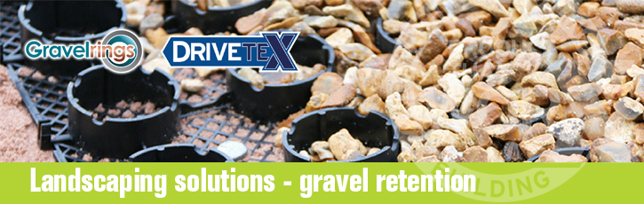 Landscaping solutions - gravel retention
