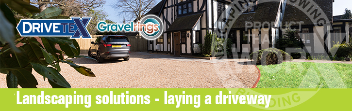 Landscaping solutions – laying a driveway