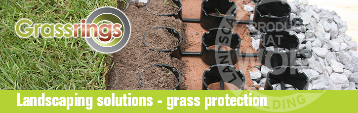 Landscaping solutions - grass protection