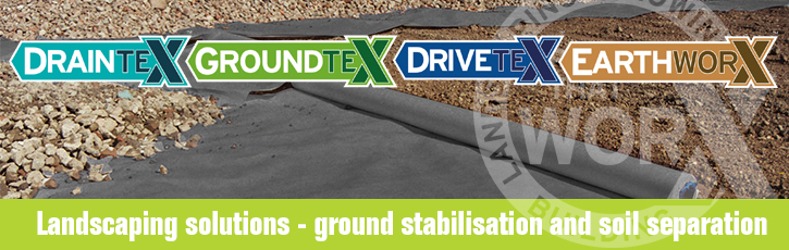 Landscaping solutions: ground stabilisation and soil separation