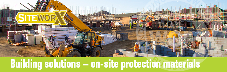 Building solutions – on-site protection materials