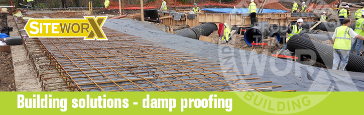 Building solutions – damp-proofing