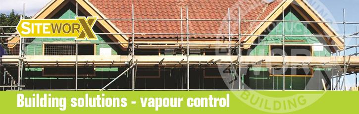 Building solutions – vapour control