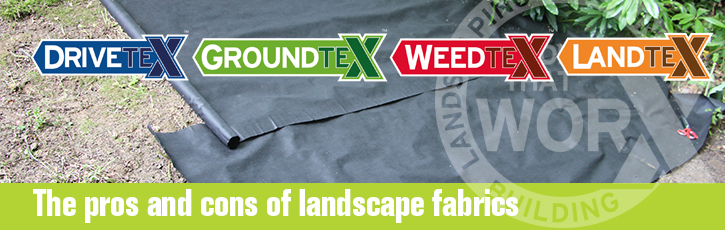 The pros and cons of landscape fabrics