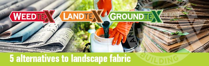 5 alternatives to landscape fabric