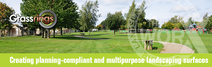 Creating planning-compliant and multipurpose grassed surface